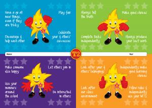 Star Certificates - Team Two - Methven Primary School